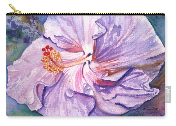 Petrina's Hibiscus Carry-all Pouch