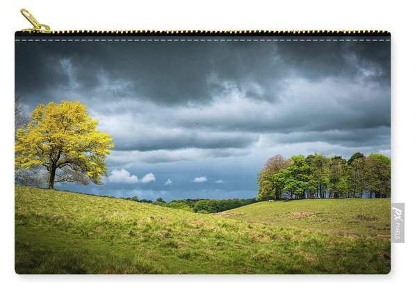 Carry-all Pouch featuring the photograph Petworth Dark And Light by Michael Hope
