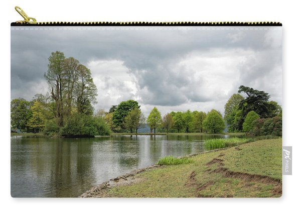 Carry-all Pouch featuring the photograph Petworth Lake by Michael Hope