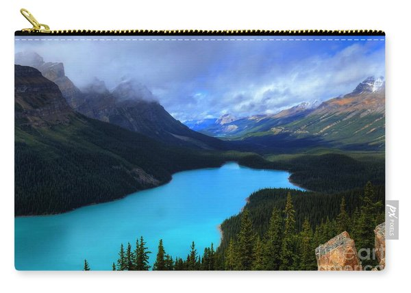 Peyto Lake Banff National Park Majestic Beauty Carry-all Pouch