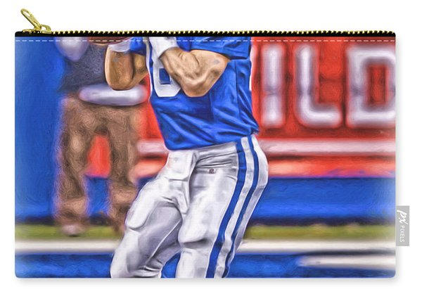 Peyton Manning Colts Oil Art Carry-all Pouch