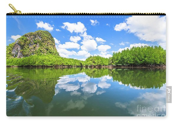 Carry-all Pouch featuring the photograph Phang Nga Bay by Benny Marty