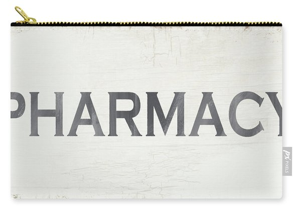 Pharmacy Sign- Art By Linda Woods Carry-all Pouch