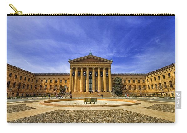 Philadelphia Art Museum Carry-all Pouch