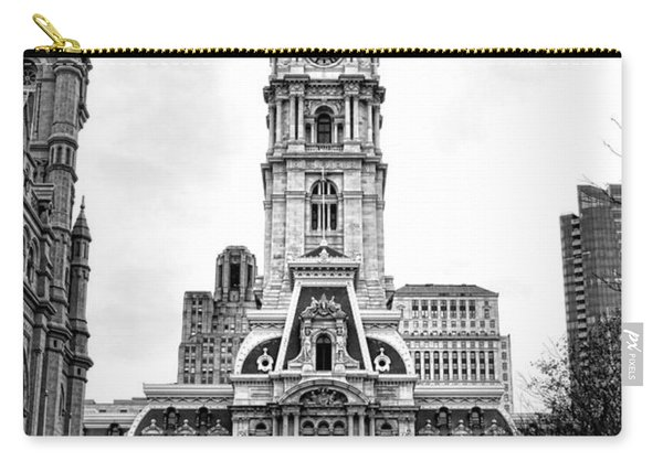 Philadelphia City Hall Building On Broad Street Carry-all Pouch