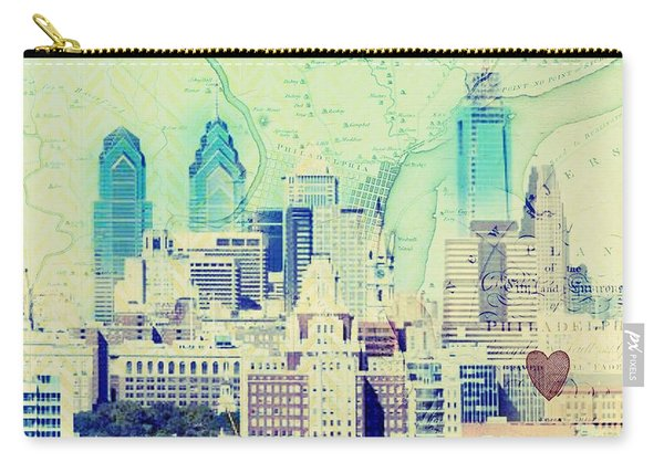 Philadelphia Cityscape Carry-all Pouch