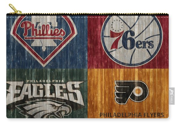 Philadelphia Sports Teams Carry-all Pouch