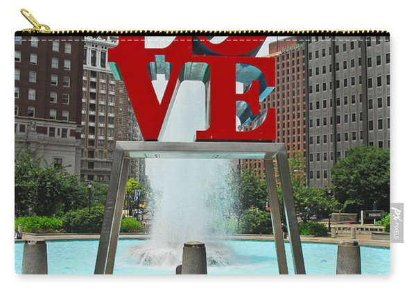 Philadelphia's Love Park Carry-all Pouch