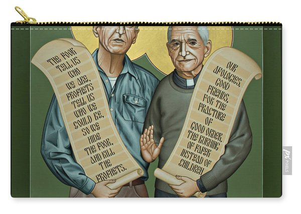 Philip And Daniel Berrigan Carry-all Pouch