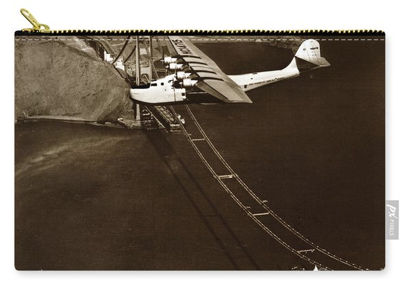 Philippine Clipper A Pan Am Clipper Over The Golden Gate Bridge  1935 Carry-all Pouch