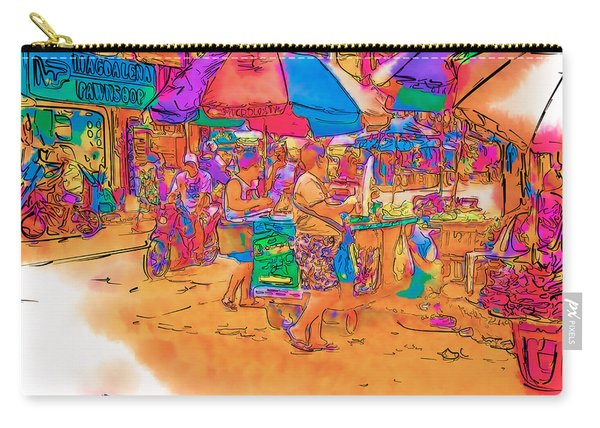 Philippine Open Air Market Carry-all Pouch