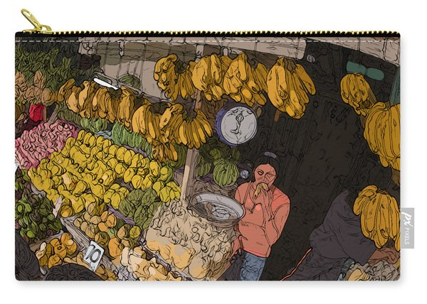 Philippines 3575 Saging Sales Lady Carry-all Pouch