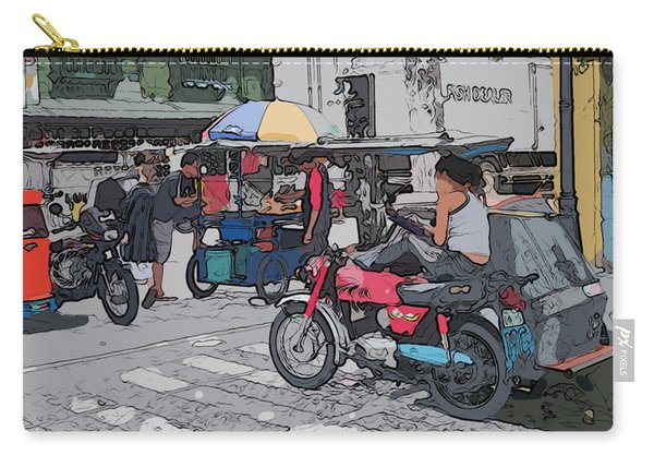 Philippines 673 Street Food Carry-all Pouch