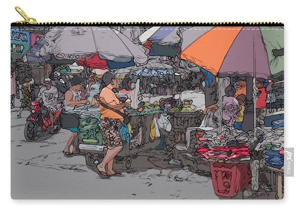 Philippines 708 Market Carry-all Pouch