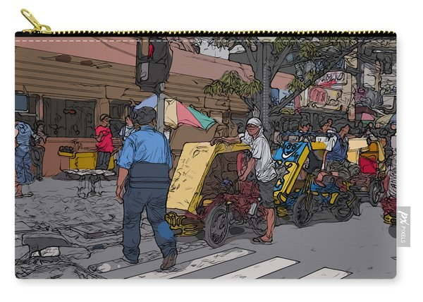 Philippines 906 Crosswalk Carry-all Pouch