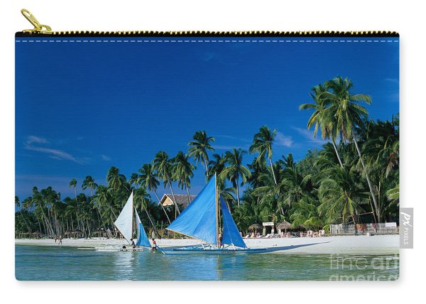 Philippines, Boracay Isla Carry-all Pouch