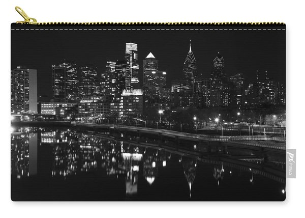 Philly And The Schuylkill Bw Carry-all Pouch