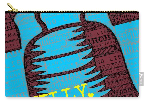 Philly Liberty Bell Carry-all Pouch