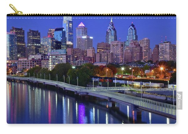 Philly Nightscape Carry-all Pouch