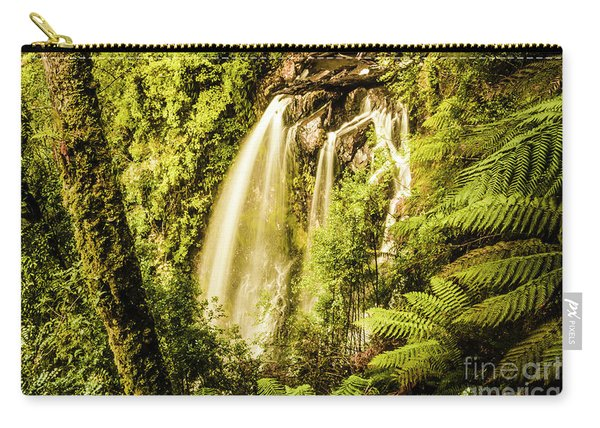 Philosopher Falls, Western Tasmania Carry-all Pouch