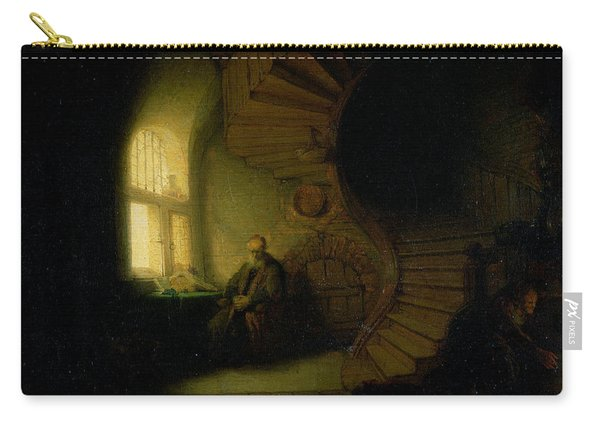 Philosopher In Meditation Carry-all Pouch
