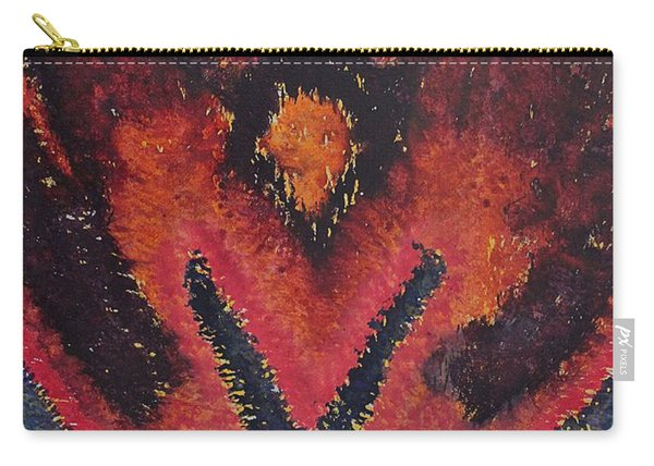Phoenix Rising Original Painting Carry-all Pouch