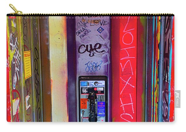 Phone Graffiti Series 5 Carry-all Pouch