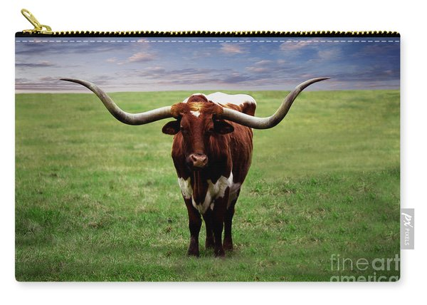 Photo Texas Longhorn A010816 Carry-all Pouch