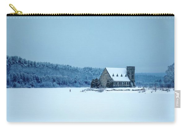 Photographer On Thin Ice Carry-all Pouch