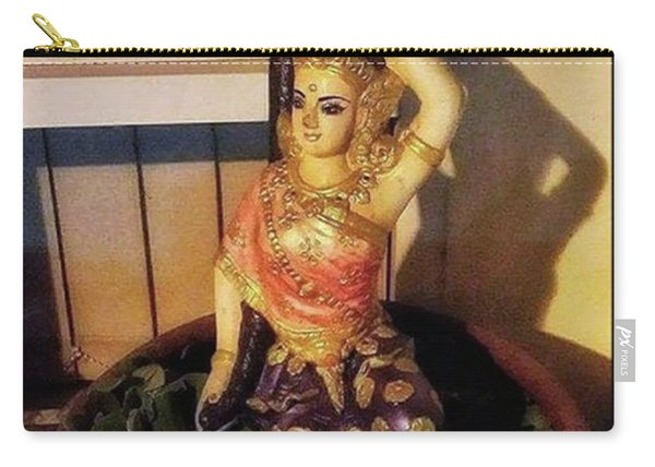 Carry-all Pouch featuring the photograph Phra Mae Thorani. Holy Mother Of Earth by Mr Photojimsf
