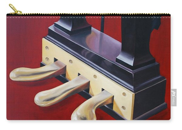 Piano Pedals Carry-all Pouch