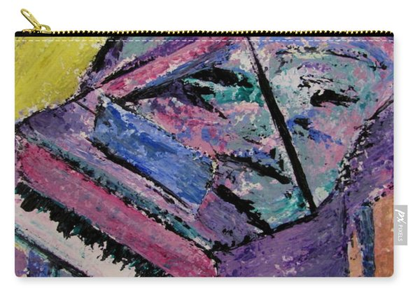 Piano Pink Carry-all Pouch