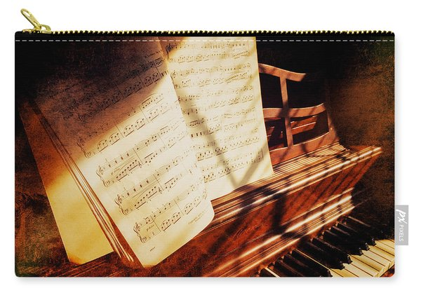 Piano Sheet Music Carry-all Pouch