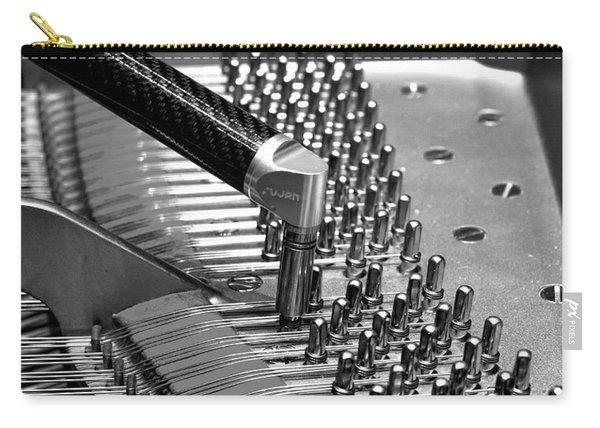 Piano Tuning Bw Carry-all Pouch