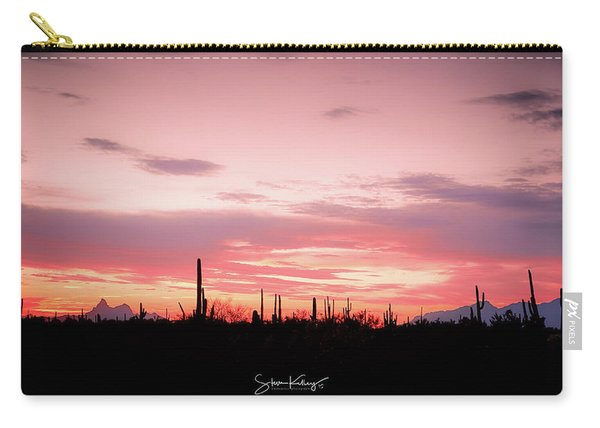Picacho Sunset Carry-all Pouch