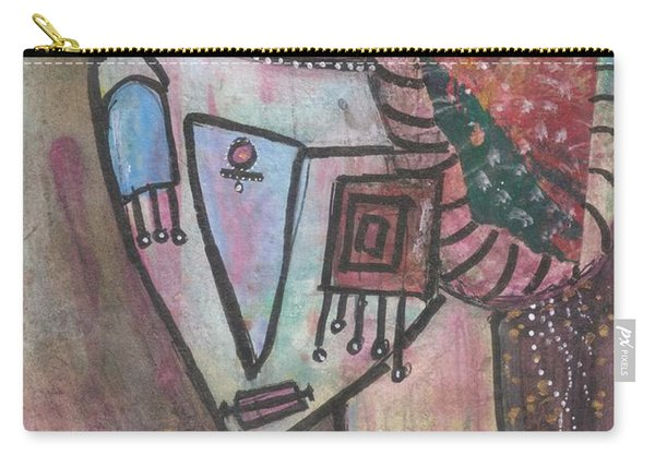 Picasso Inspired Carry-all Pouch
