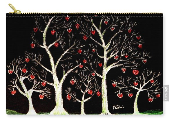 The Valentine Forest Carry-all Pouch