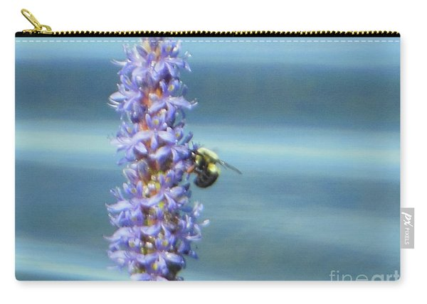 Pickerelweed Bumble Bee Carry-all Pouch