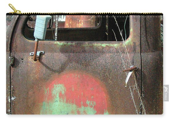 Pickup Truck In Junkyard Carry-all Pouch
