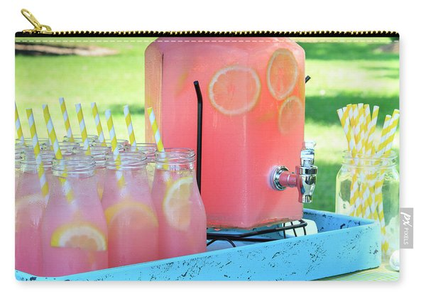 Picnic Pink Lemonade Carry-all Pouch