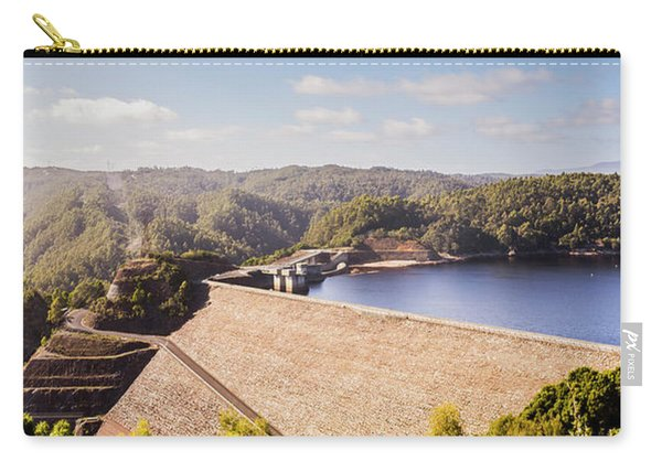 Picturesque Hydroelectric Dam Carry-all Pouch
