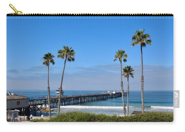 Pier And Palms Carry-all Pouch