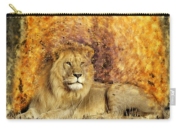 Pieces Of A Lion Carry-all Pouch