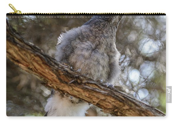 Pied Currawong Chick 1 Carry-all Pouch