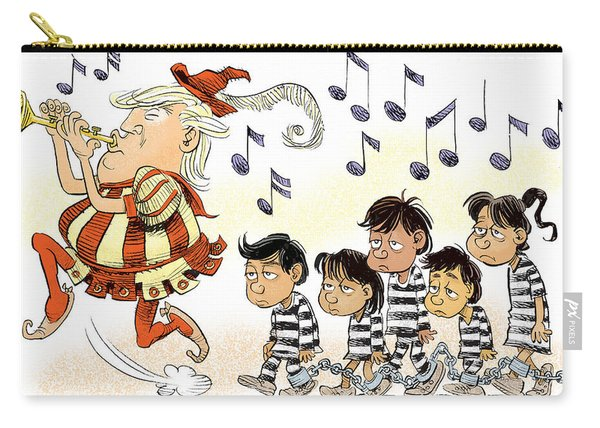 Pied Piper Trump And Infestation Carry-all Pouch