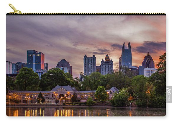 Piedmont Park Pool Midtown Atlanta Sunset Art Carry-all Pouch