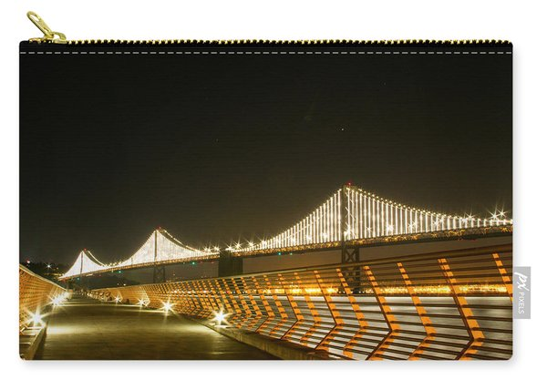 Pier 14 And Bay Bridge Lights Carry-all Pouch
