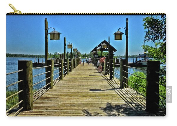 Pier At Fort Wilderness Pm Carry-all Pouch