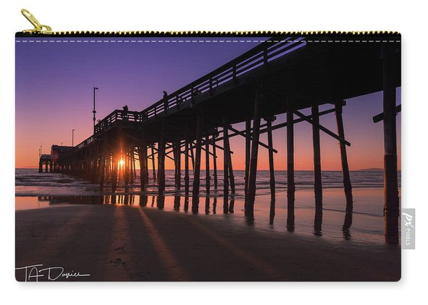 Pier In Purple Carry-all Pouch