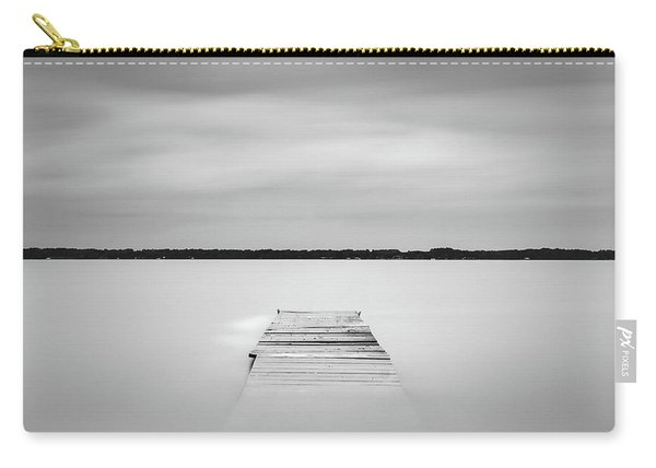 Pier Sinking Into The Water Carry-all Pouch